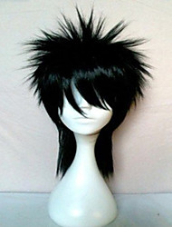 cheap -new stylish man s cosplay wig synthetic hair natural wavy black animated wigs girl s cartoon wigs party wigs 016a Halloween