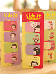 cheap -Candy Girl Self-Stick Notes(1 Set)