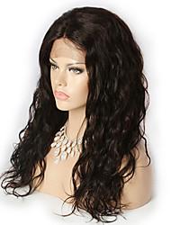 preiswerte -Echthaar Spitzenfront Perücke Stil Brasilianisches Haar Lose gewellt Perücke 20 Zoll Damen Kurz Mittlerer Länge Lang Echthaar Perücken mit Spitze