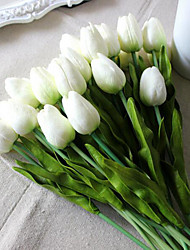 cheap -PU Wedding Flowers Bouquet Tabletop Flower 8PCS 35cm