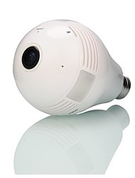 cheap -Strongshine® Built-in 32 GB Memory Card 960P Home Wireless Network(WIFI) Monitoring Bulb Type Fisheye 360 Degrees Panoramic Camera