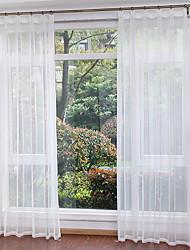 abordables -Moderne Rideaux opaques Deux Panneaux Salle à manger   Curtains / Salle de séjour
