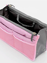 cheap -Unisex Zipper Nylon Cosmetic Bag Blue / Pink / Yellow