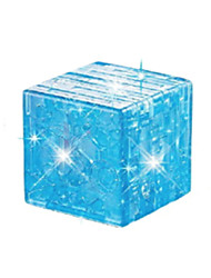 cheap -Building Blocks Magic Cube 3D Puzzle Jigsaw Puzzle Crystal Puzzle DIY Crystal ABS Kid's Toy Gift