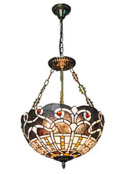 cheap -CXYlight 3-Light 40cm(15.7 Inch) Mini Style Pendant Light Metal Glass Others Tiffany 110-120V / 220-240V