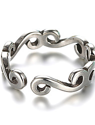 cheap -Women's Band Ring Open Cuff Ring wrap ring Silver Sterling Silver Silver Ladies Unusual Unique Design Wedding Daily Jewelry