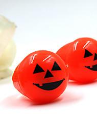 Недорогие -1шт Хэллоуин мягкие игрушки кольцо глаза и тыквенные фонари кольцо светящееся кольцо перста (случайный цвет)
