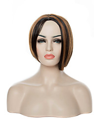 cheap -Synthetic Wig Straight Straight Wig Brown Synthetic Hair Women's Brown