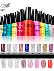 cheap -1Pcs UV Gel Nail Polish Long-Lasting Nail Gel Soak-off LED Lamp Fingertip Ballet Gel Polish 12ML 91-100 Colors