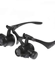 cheap -2 Led Watch Repair 10X / 15X / 20X / 25X Magnifying Glasses