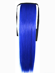 cheap -The New Color  Bundled Horsetail Blue  Hair Ponytail