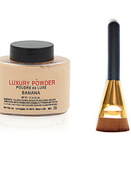 cheap -Powders Makeup Brushes Dry Natural Breathable Whitening Coverage Oil-control Concealer