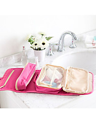 cheap -Portable Makeup Bag Organizer Nylon Women Cosmetic Cases Travel Wash Bag