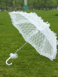 "cheap -Post Handle Lace Wedding Umbrella Umbrellas 28.4""(Approx.72cm)"