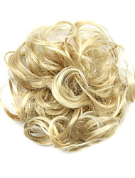 cheap -Synthetic Wig chignons Curly Classic Classic Curly Layered Haircut Wig Short Light Blonde Synthetic Hair Women's Updo