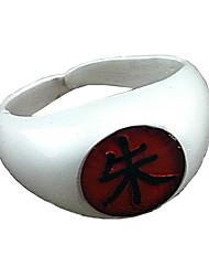 cheap -Jewelry Inspired by Naruto Itachi Uchiha Anime Cosplay Accessories Ring Alloy Men's Women's Hot Halloween Costumes