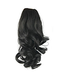 cheap -length-black-wig-34cm-synthetic-curly-high-temperature-wire-gripper-horsetail-hair-color-2