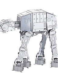cheap -Building Blocks 3D Puzzle Metal Puzzle Imperial Walker compatible Legoing Fun Classic Boys' Girls' Toy Gift / Educational Toy