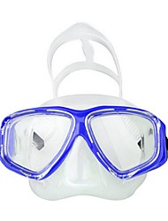 cheap -Snorkel Mask Waterproof Two-Window - Swimming Silicone - For Adults' Yellow / Anti Fog / Dry Top