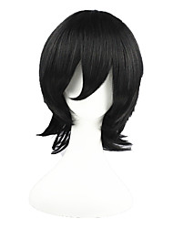 cheap -bleach-Kojima Mizuiro Black 14inch Anime Cosplay Wig CS-008A