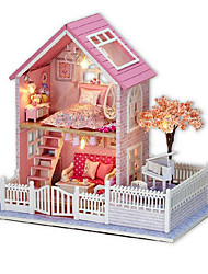 cheap -CUTE ROOM DIY Furniture Wooden Boys' Girls' Toy Gift