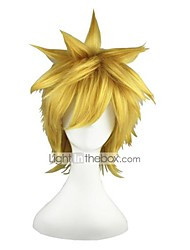 cheap -Naruto-Uzumaki Naruto Blonde 14inch Anime Cosplay Wig CS-016A