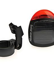 cheap -Solar Powered Rear Tail Bike Light Lamp Taillight Waterproof Bright LED Cycling Bike Night Safety Rear Light