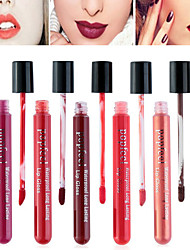 cheap -1 pcs Daily Makeup Makeup Tools Liquid Lip Gloss Dry / Wet / Matte Waterproof / Breathable / Fast Dry Makeup Cosmetic Daily Grooming Supplies