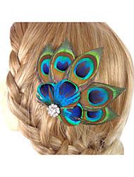 abordables -2016 nouvelle accessoire de accessoires pour cheveux fascinator en accessoires de plumes fabriqués à la main