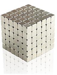Недорогие -648 pcs 4mm Магнитные игрушки Магнитные шарики Конструкторы Сильные магниты из редкоземельных металлов Неодимовый магнит Магнит Куб Неодимовый магнит / Стресс и тревога помощи