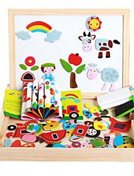 Недорогие -Магнитные игрушки Куски М.М. Магнитные игрушки Пазлы Исполнительные игрушки головоломка Куб Для получения подарка