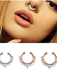 cheap -Nose Ring / Nose Stud / Nose Piercing Nose Piercing Bohemian Women's Body Jewelry For Christmas Gifts Party Stainless Steel Golden Rose Gold Silver