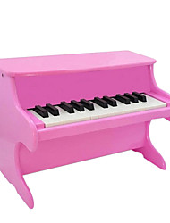 cheap -Wood Red/White/Black/Pink Piano for Children All Musical Instruments Toy