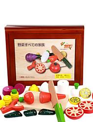abordables -une grande boîte en bois de fruits et légumes sincèrement, maison de jeux pour enfants en bois, jouets magnétiques