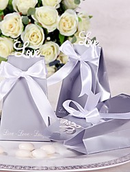 cheap -Round / Square Card Paper Favor Holder with Printing Favor Boxes / Favor Bags / Gift Boxes - 12