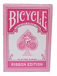 Недорогие -розовый лента велосипед велосипед покер карты магия покер карты настольная игра розовый поколения 2 (а)