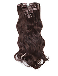 cheap -Wavy Classic Synthetic Hair 20 inch Hair Extension Clip In 1pack Women's Daily