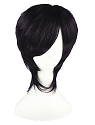cheap -Cosplay Wigs Gintama Takasugi Shinsuke Anime Cosplay Wigs 35 CM Heat Resistant Fiber Men's Women's