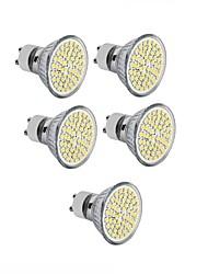 cheap -5pcs 3.5 W LED Spotlight 300-350 lm GU10 GU5.3(MR16) E26 / E27 MR16 60 LED Beads SMD 2835 Decorative Warm White Cold White 220-240 V 12 V 110-130 V / 10 pcs / RoHS