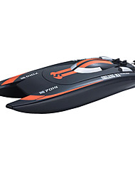 cheap -RC Boat Double Horse 7014 Speedboat Plastic / ABS 3 pcs Channels 25 km/h KM/H