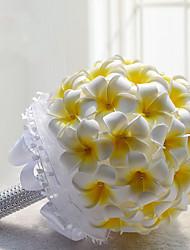 abordables -Fleurs de mariage Bouquets Mariage / Fête / Soirée Polyester / Mousse / Satin 30cm