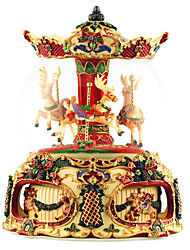 cheap -Music Box Carousel Music Box Extra Large Unique Women's Girls' Kid's Adults Graduation Gifts Toy Gift