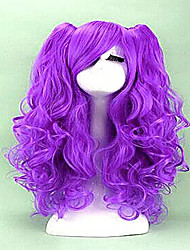 cheap -2 colors cosplay wig long curly synthetic hair heat resistant cosplays party wigs Halloween