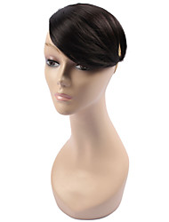 cheap -Bangs Straight Synthetic Hair Women's