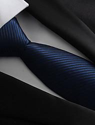 abordables -Homme Soirée / Travail / Basique Cravate Rayé
