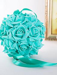 abordables -Fleurs de mariage Bouquets / Autres / Décorations Mariage / Fête / Soirée Matière / Satin Elastique 0-20cm