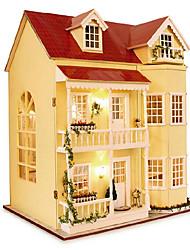 Недорогие -для домашнего поделок дом большой дом, три поколения - 010 серии дар хороший день рождения