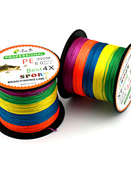 cheap -PE Braided Line / Dyneema / Superline 300M / 330 Yards PE 80LB 70LB 60LB 0.14-0.5mm Sea Fishing Ice Fishing General Fishing / 50LB / 45LB / 40LB / 38LB / 30LB