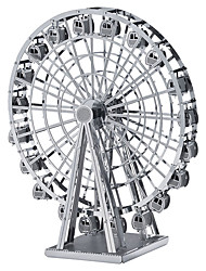 cheap -3D Puzzle Wooden Puzzle Metal Puzzle Ferris Wheel Metal Boys' Girls' Toy Gift