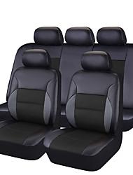 cheap -CARPASS Car Seat Covers Seat Covers Black / black+black / Blushing Pink PVC(PolyVinyl Chloride) Business For universal